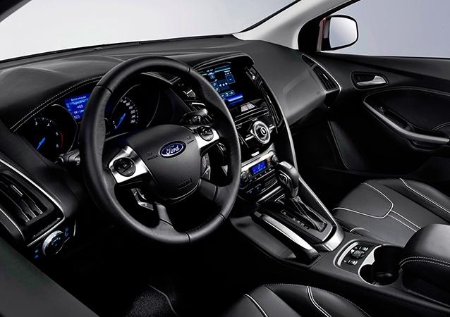 Салон Ford Focus 3