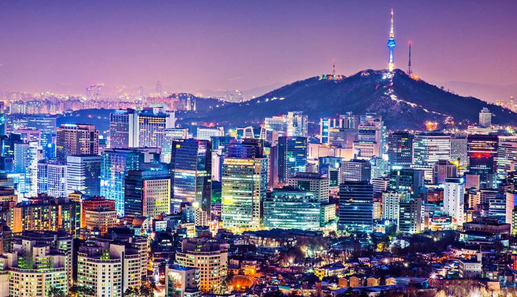 Красивая Южная Корея