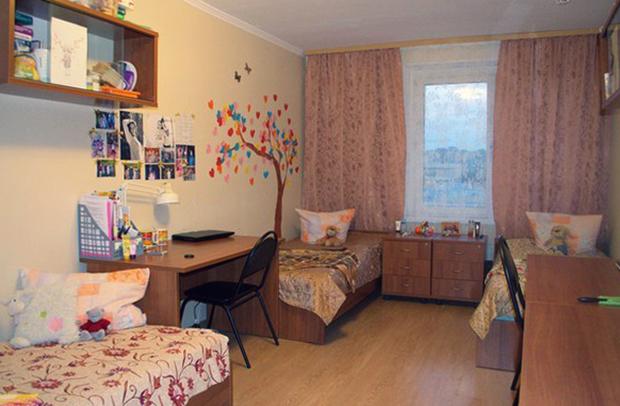 Современное общежитие