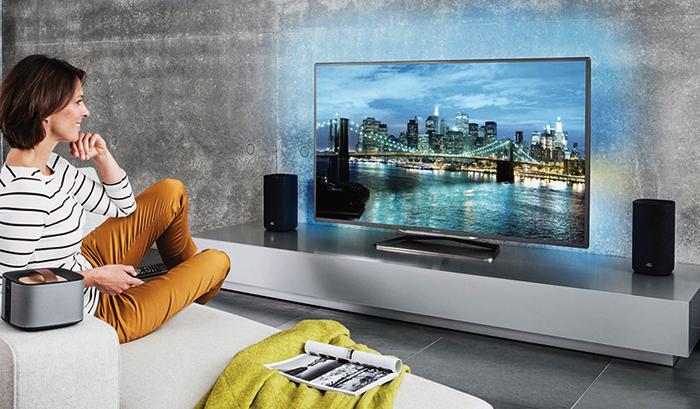Современный 4K телевизор