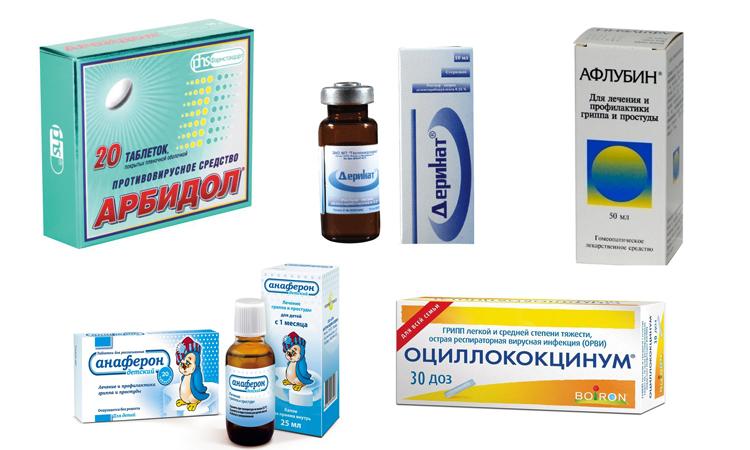 Разные противовирусные средства