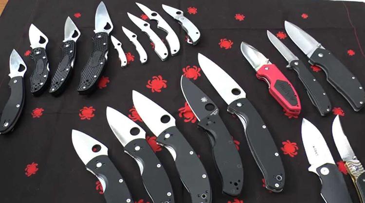 Ножи со сталью 8cr13mov