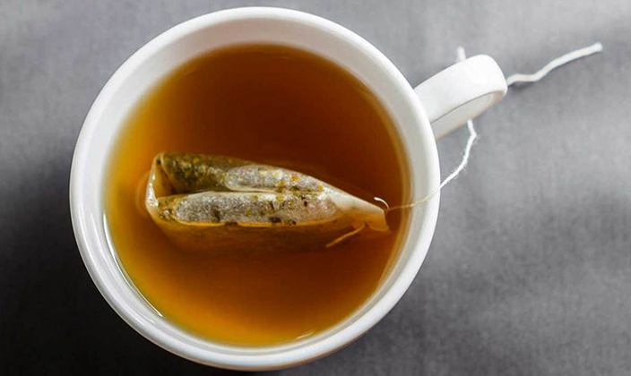 Зеленый чай в пакетике