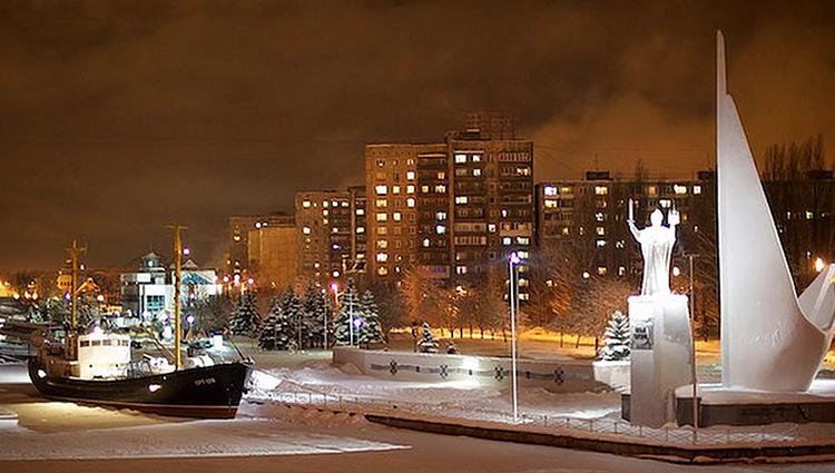 Зима в Калининграде
