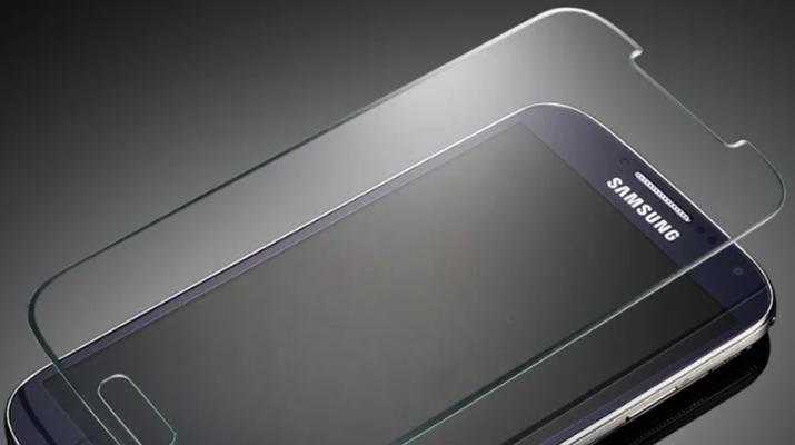 Новое защитное стекло на Samsung