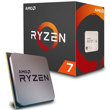 AMD Ryzen с коробкой