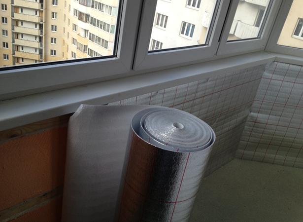 Балкон утепляется