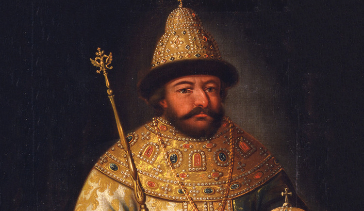 Борис Годунов на троне