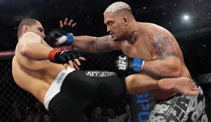 В игре UFC 3