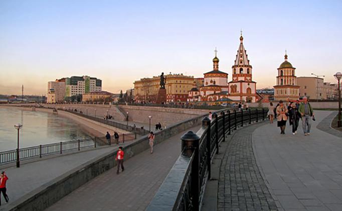 Красивый Иркутск
