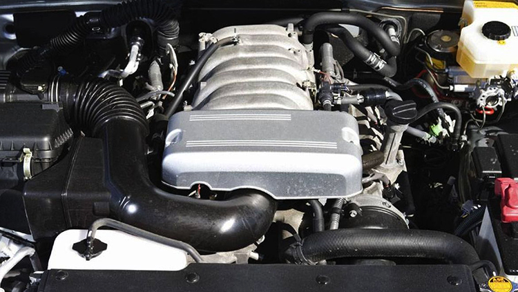 Мытый двигатель