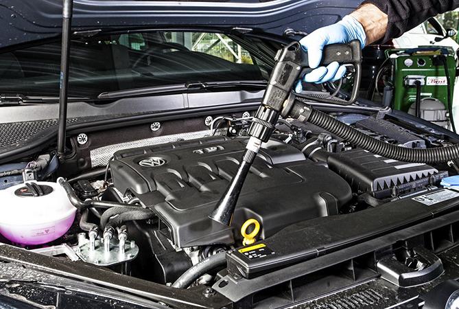 Перед проведением чистки двигателя