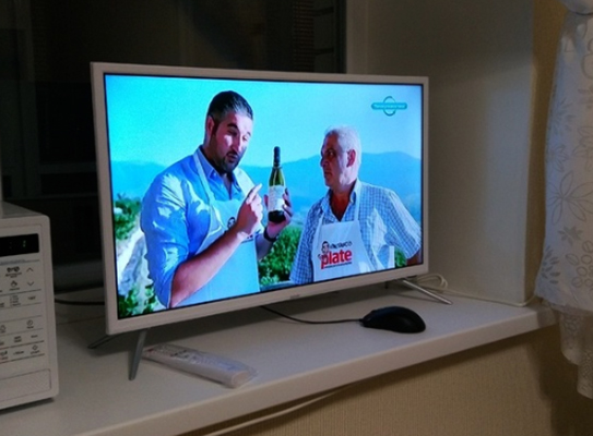 Работающий телевизор