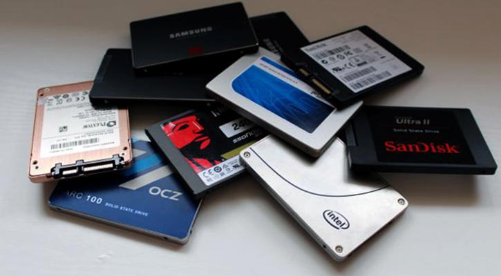 Разные SSD диски
