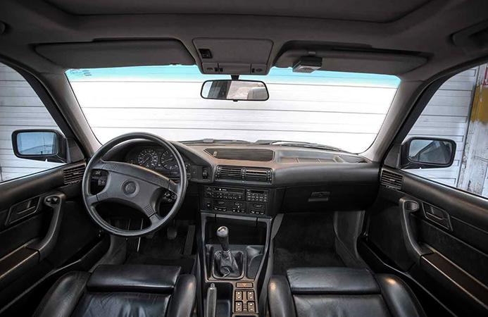 Салон BMW E34