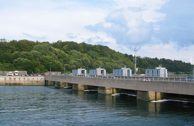 Современная приливная станция