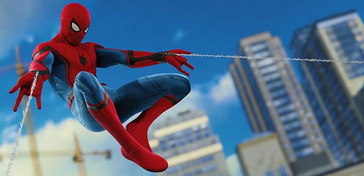 В игре Spider Man на PS4