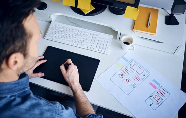 Творческая работа веб-дизайнера
