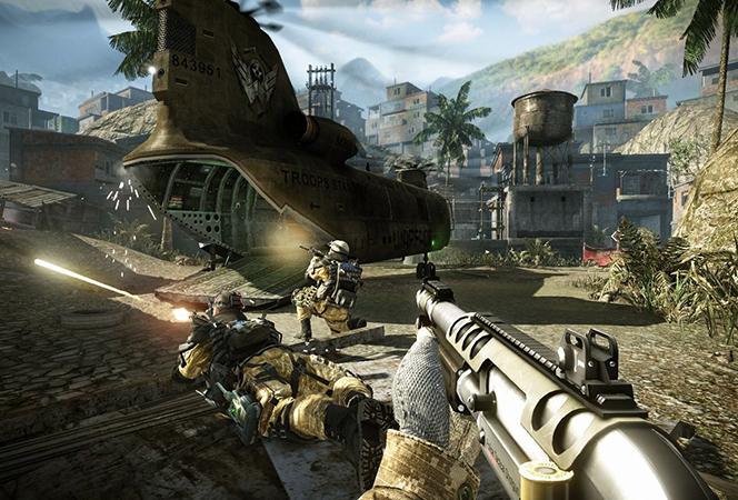 В игре Warface