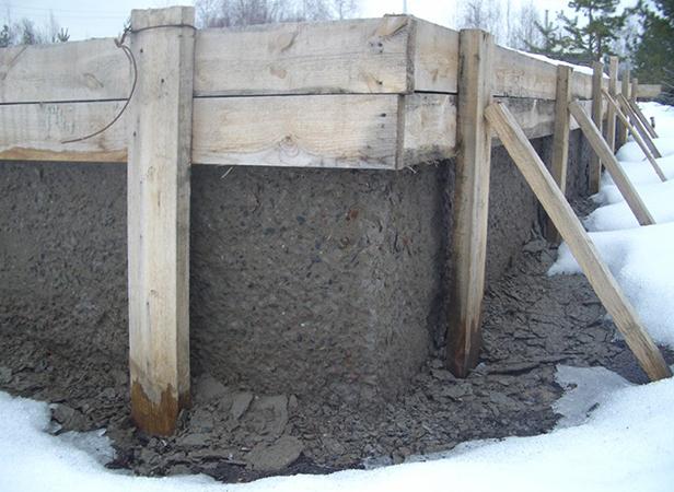 Зимний фундамент