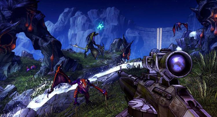 В игре Borderlands 2