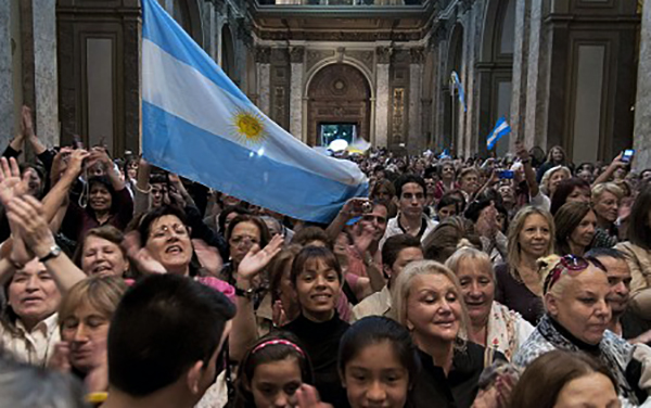 Люди в Аргентине