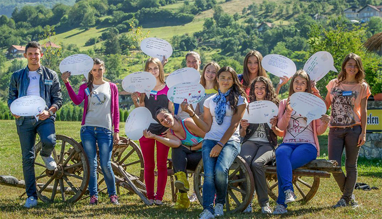 Люди Черногории