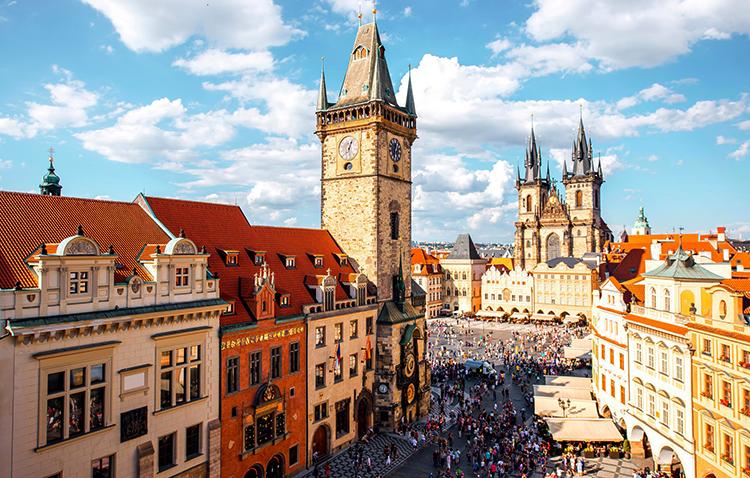 Красивая Прага