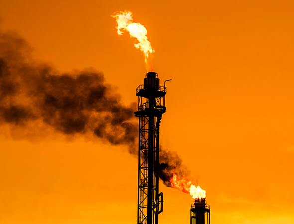 Сжигание нефти