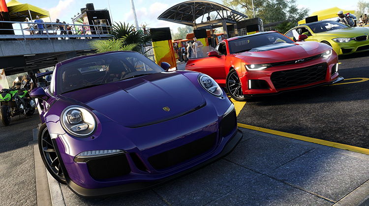 Автомобили из игры Crew 2