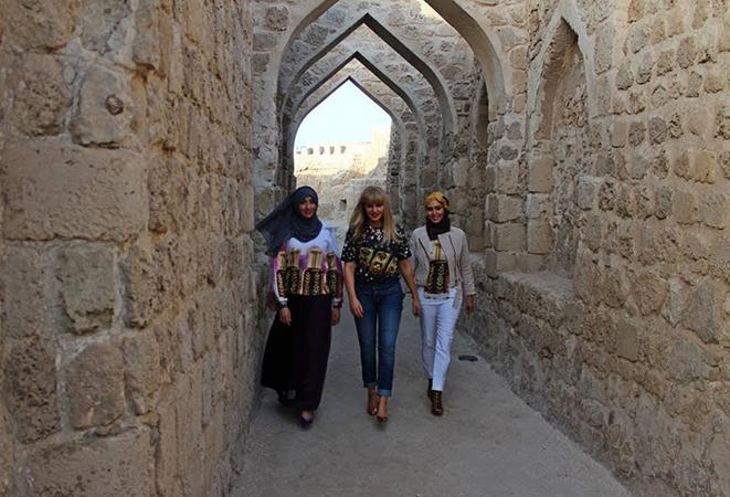 Туристы в Бахрейне