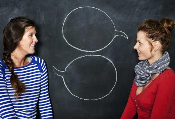 Беседа между 2 людьми