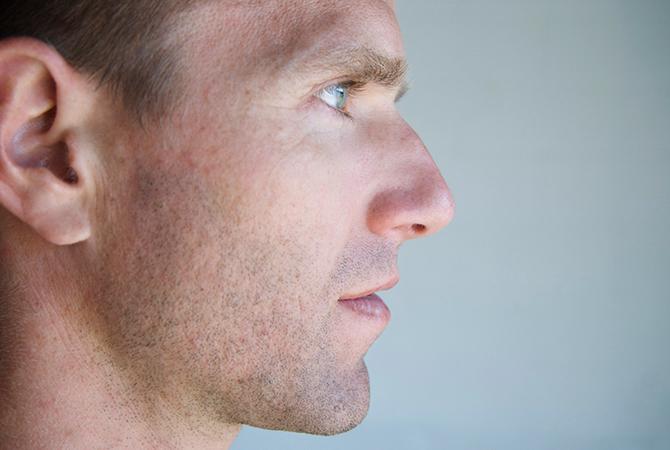 Человек с носом