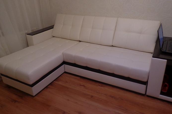 Угловой диван из Диван из экокожи