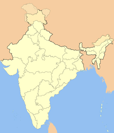 Территория Индии