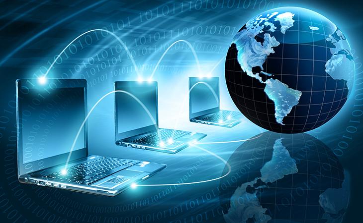 Интернет и земля