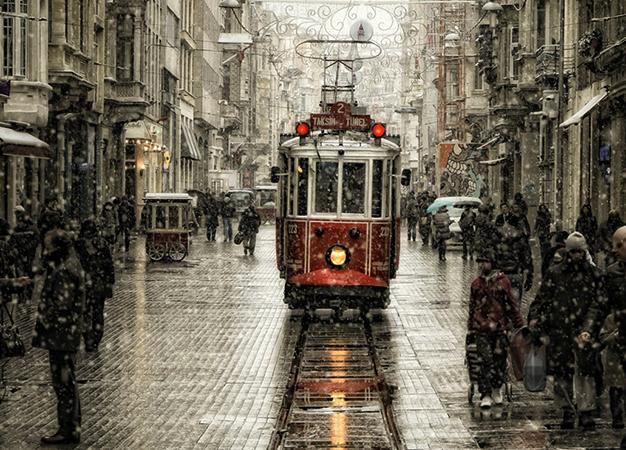 Слякоть в Стамбуле