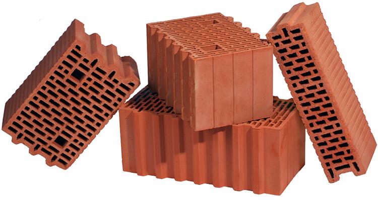Как выглядят керамические блоки