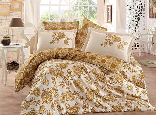 Красивое постельное белье из сатина