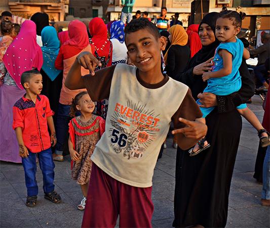 Люди в Египте