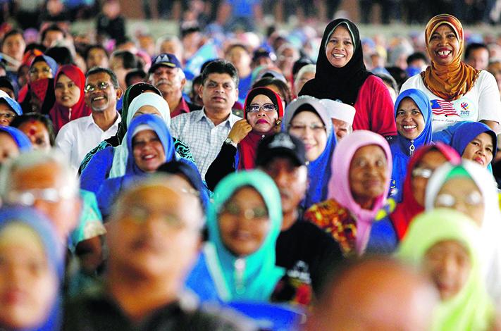 Люди в Малайзии