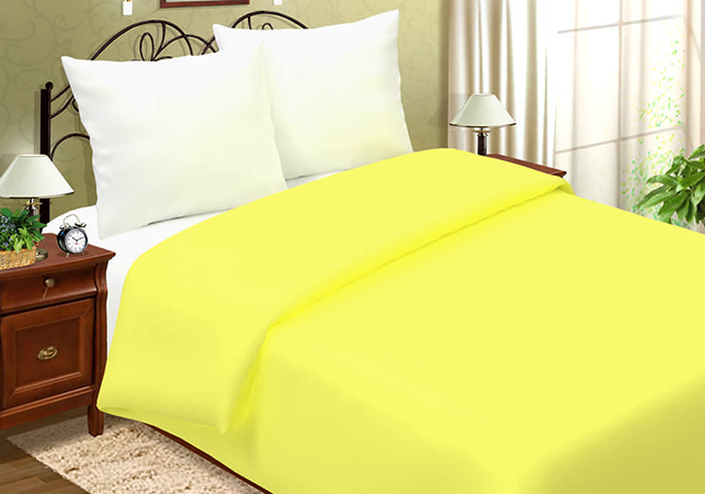 Лимонное постельное белье