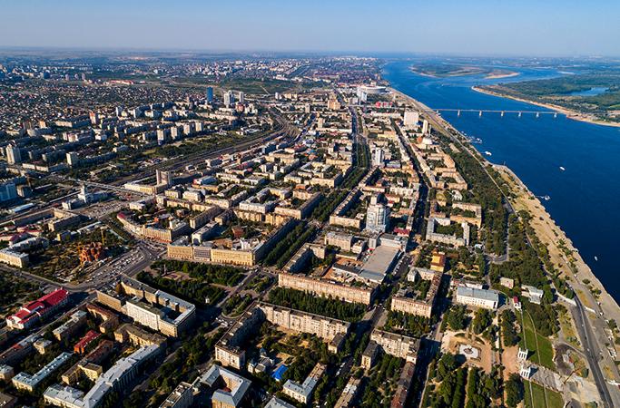 Районы Волгограда