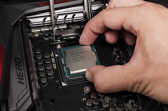Процессор в руках