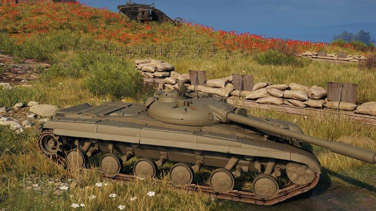 Танк ЛТ-432 в игре