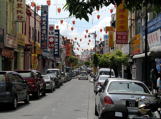 Улица в Малайзии