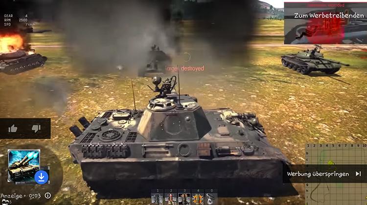 В игре War Thunder