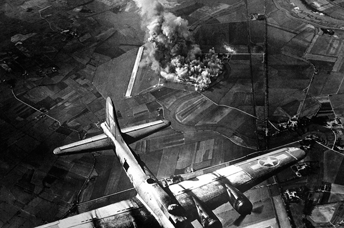 Во время второй мировой войны