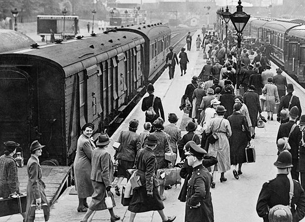 Люди во время второй мировой войны