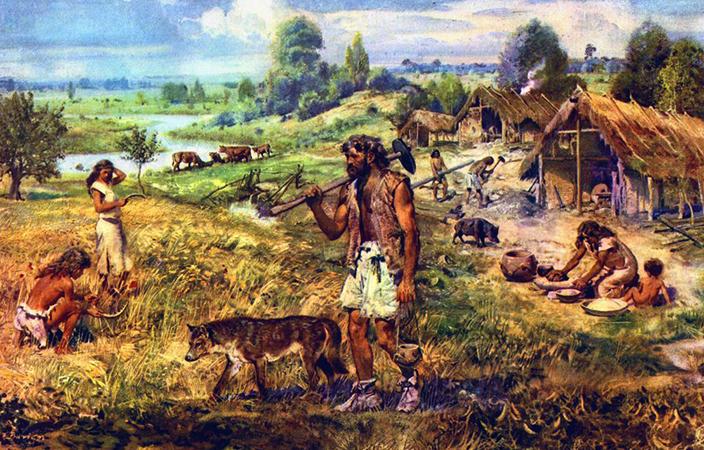 Выращивание и собирательство в древности